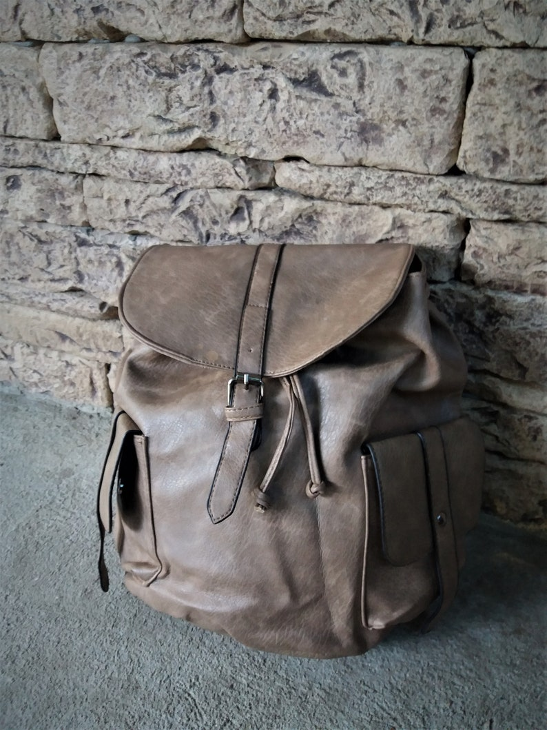 1bad6f2ced Backpack Women Girl Backpack Purse Brown Leather Back Pack