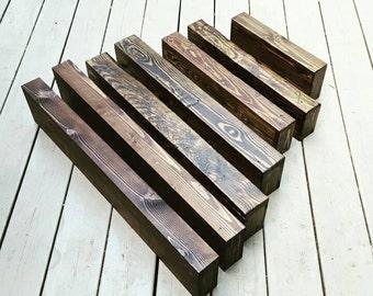 Custom Sizing Chunky Rustic Reclaimed Wood Floating Shelves