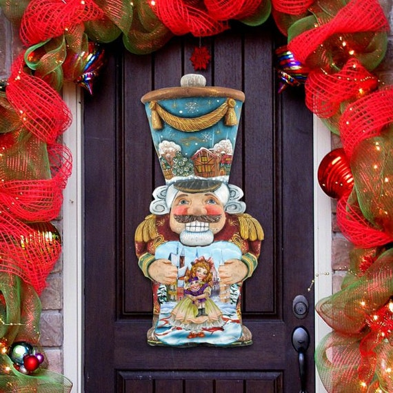 image 0 - Outdoor Christmas Decorations SALE Nutcracker Christmas Etsy