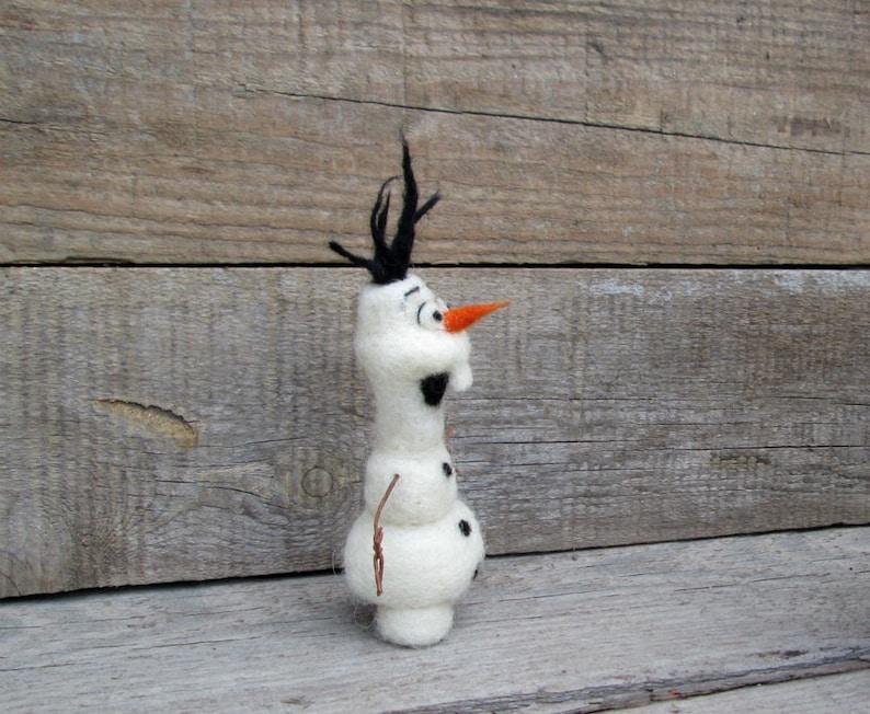 Olaf Felt Snowman Christmas ornament Winter figurinе ...
