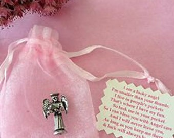 Lucky Pocket Angel / Fairy/ Xmas - Great Birthday Gift, Great Gift - Good Luck