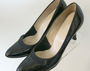 leather pumps on sale