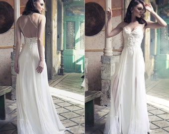 13f5fcfe4c89a Boho wedding dress