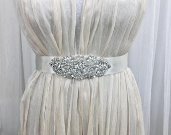 Wedding Dress Belt, Bridal Belt, Wedding Sash Belt,  Bridal Belt Applique, Wedding Accessories, Wedding Belt, Wedding Sash Applique