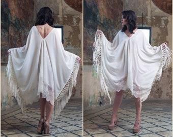 Boho Maxi Dress, Beach Wedding Dress, bridal shower gift, Wedding Lingerie, bridal shower dress, bridal lingerie, Boho dress, Beach cover up
