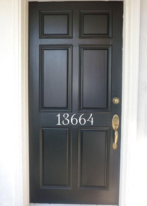 Attirant Vinyl House Number Decal Front Door Address Vinyl Door | Etsy