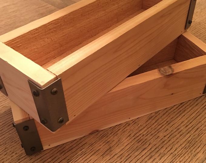 Herb planter/Cedar planter box/Planter box/Trough