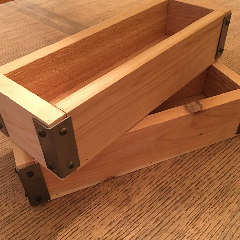 Herb Planter Cedar Planter Box Planter Box Trough