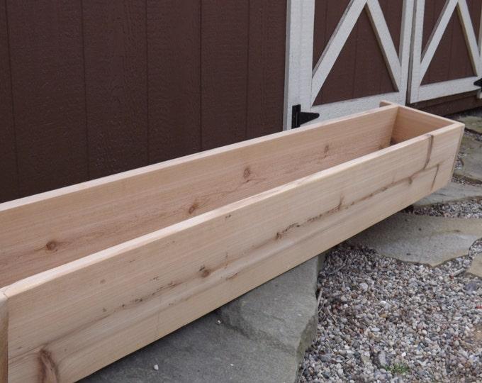 Cedar window box/Flower box/Window planter