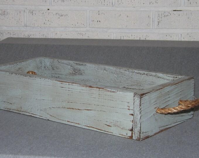 Wood tray/Trough/Wood planter/Flower centerpiece/Wedding/Serving tray/Table centerpiece/Planter box