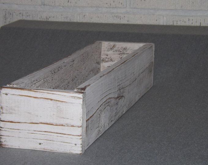 Wood tray/Herb planter/Trough/Wood Planter box/Table Centerpiece/Organizer/Table trough/Wedding centerpiece/Succulent planter
