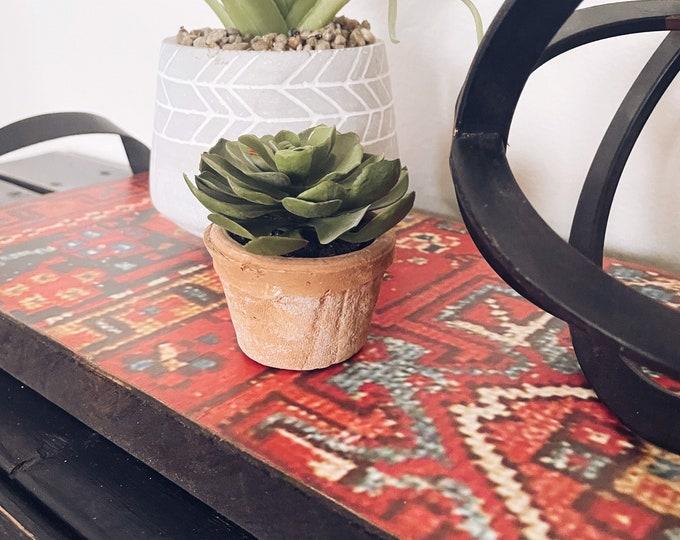 Decorative Tray/Wood Tray/Table Runner