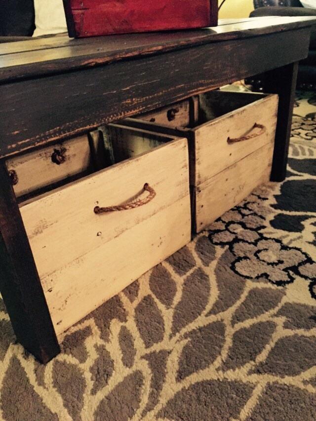Stoarge Box Craft Storage Farmhouse Bins Wood Toy