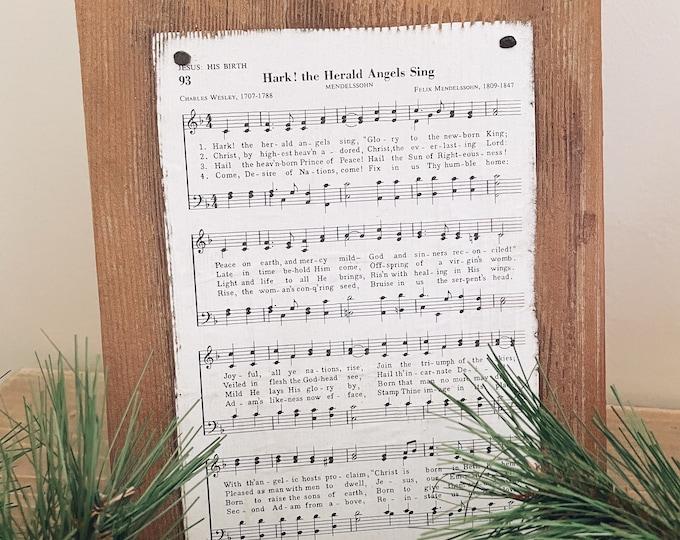 Distressed Christmas Sheet Music