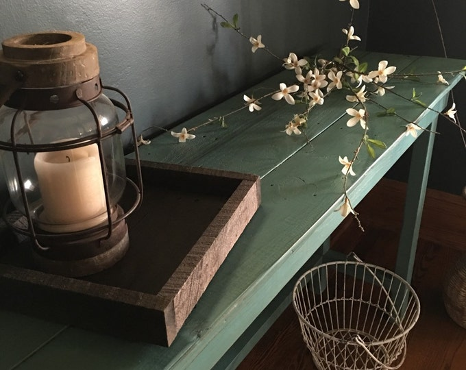 Entry table/Wood table/Entryway table/Entry furniture/Farmhouse table/Console table/Buffet table