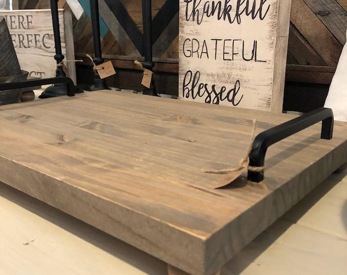 Wood tray/Serving tray/Decorative tray