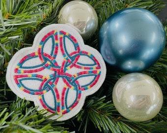 Celtic Cross Christmas Ornament