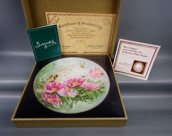 Anna Perenna Enchanted Gardens JUNE DREAM Limited Ed. Collector Plate