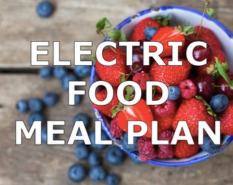Electric Foods Meal Plan - Download
