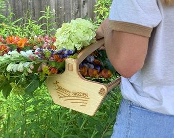 Personalized Harvest Basket