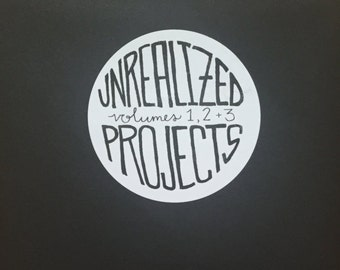 Unrealized Projects Vol. 1-3 Set
