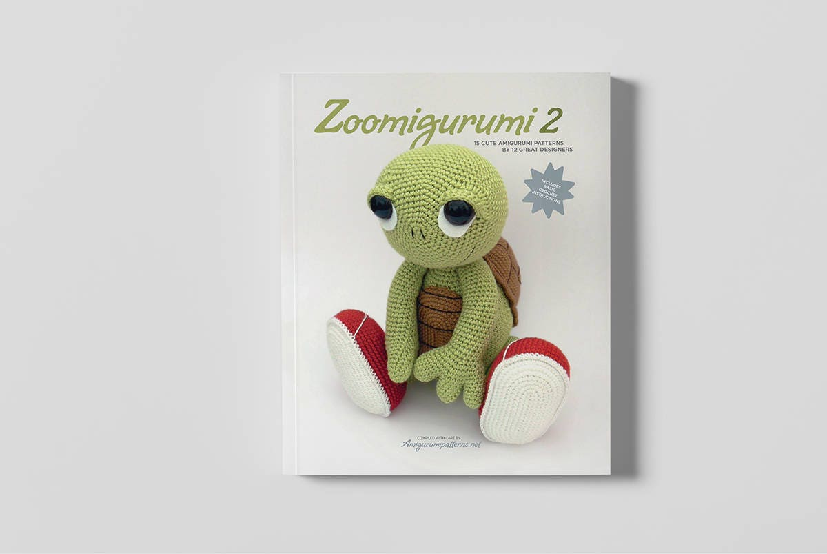 15 animal patterns. Amigurumi PDF book Zoomigurumi 2   Etsy