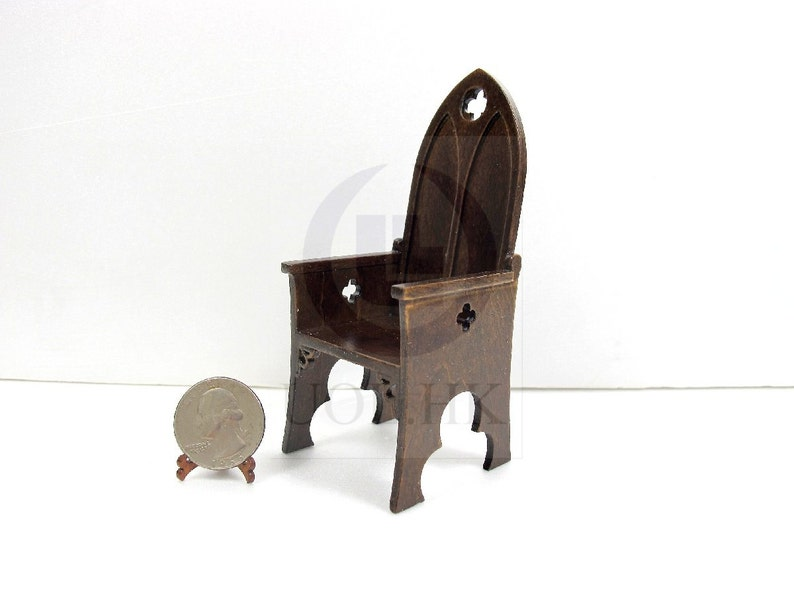Handmade Peter Rabbit Beatrix Potter Dolls House Wooden Table 1//12th in White