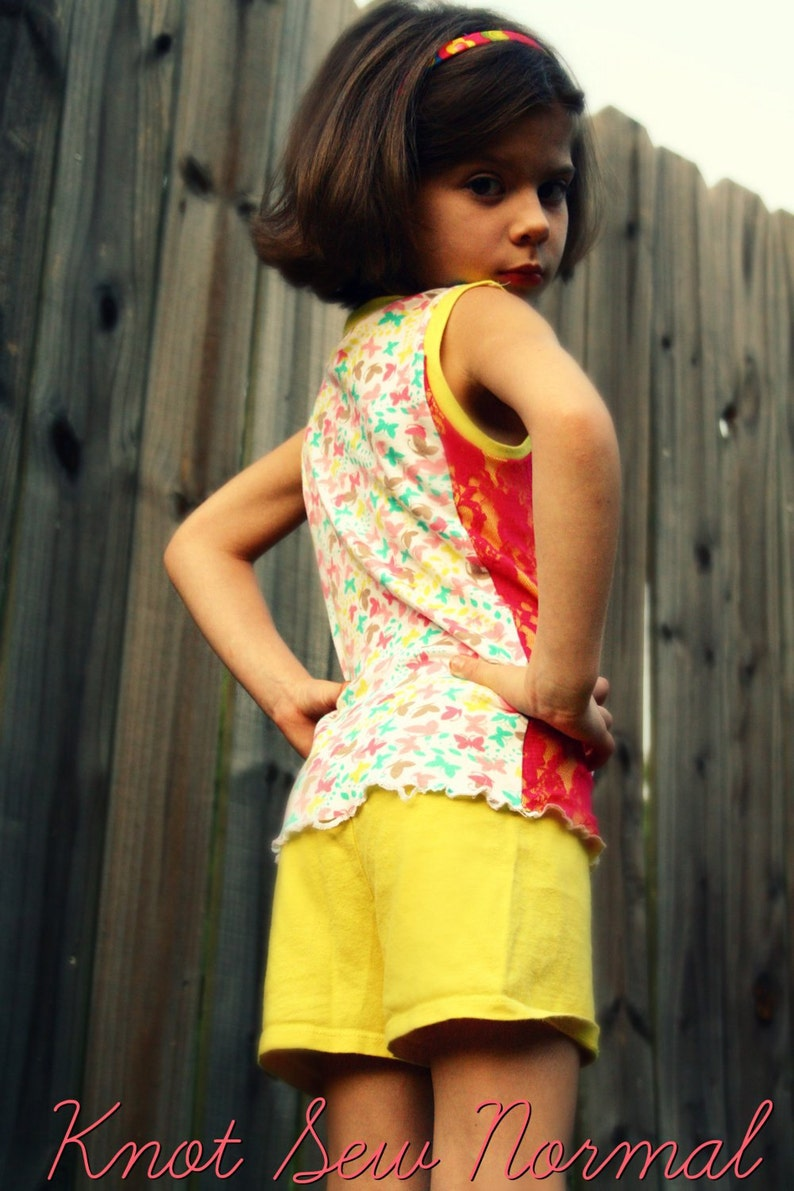 7bf7e272c TWEEN Girls dress pattern PDF Childrens sewing pattern