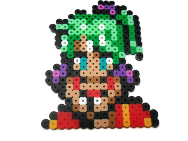 Final Fantasy VI Terra bead sprite, final fantasy 6 character sprite, video  game decor, snes, super nintendo, video game perler, gamer gift