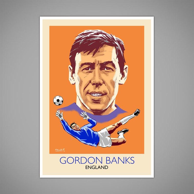 982fd36c386 GORDON BANKS ENGLAND Football World Cup Mexico 1970 Save of