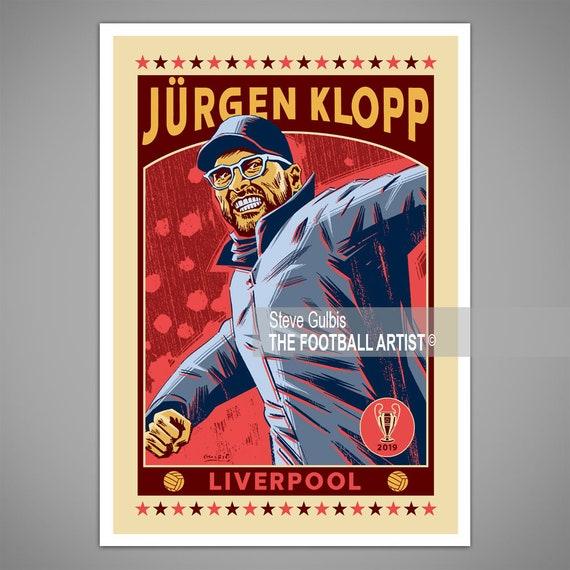 Framed Liverpool Jurgen Klopp The Normal One Poster New