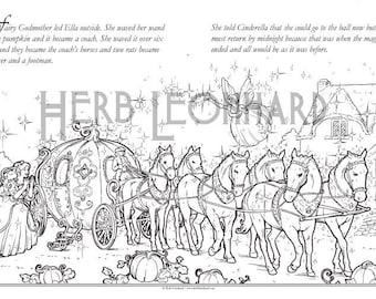 Herb Leonhard Adult Coloring Page Faerie Nouveau Coloring