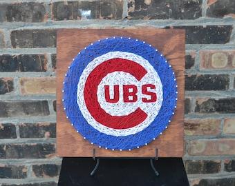 Chicago Cubs String Art