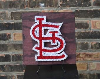 St. Louis Cardinals String Art