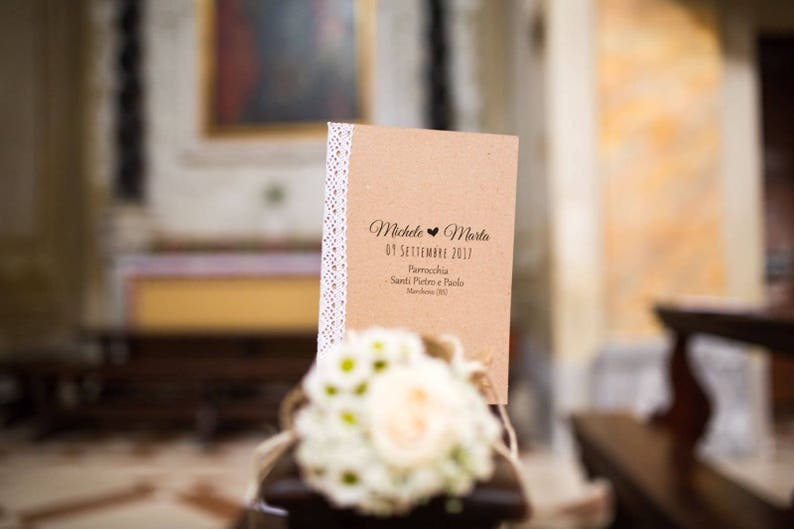 Country Chic Mass Booklet