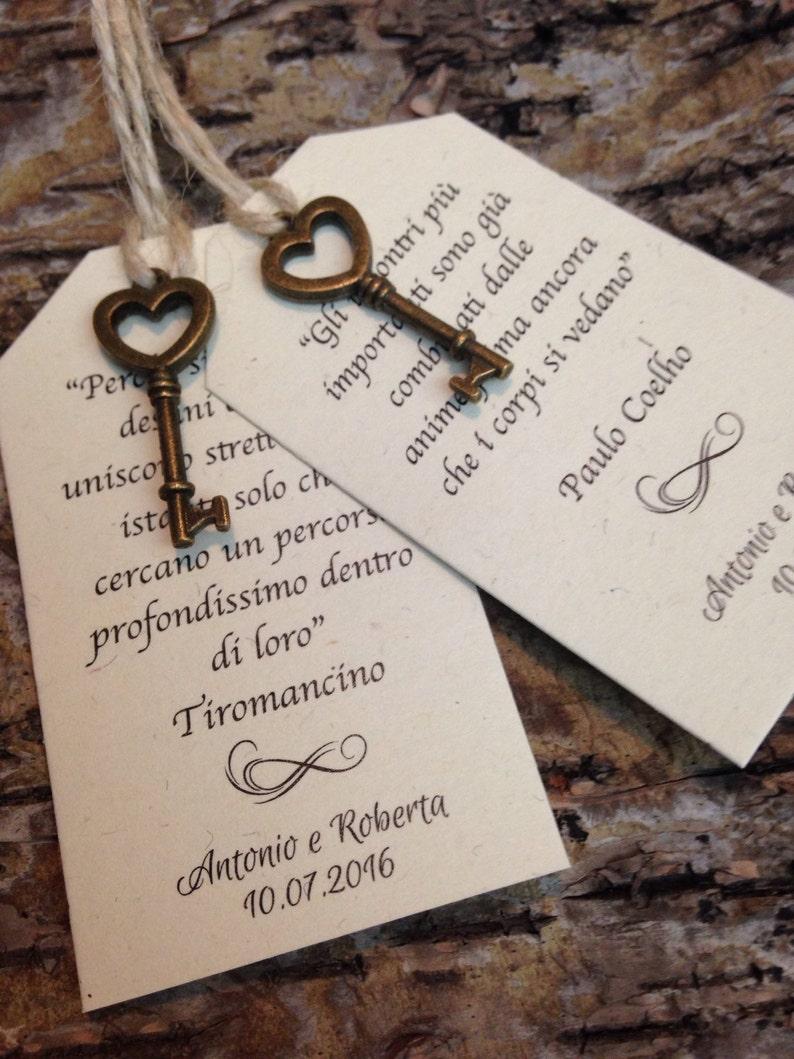 Matrimonio Tema Chiave Del Cuore : Segnaposto shabby chic con chiave vintage ordine minimo etsy