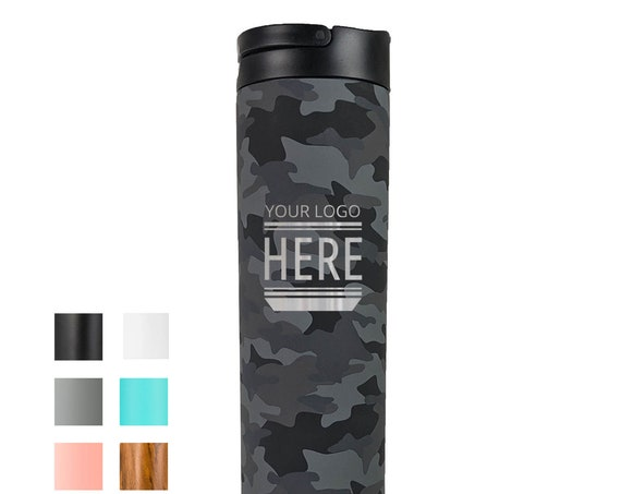 Custom Design Camo Patterned Stainless Steel Water Bottle 20oz | Elemental Iconic Insulated Bottes | Best Gift for Birthdays and Holidays