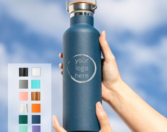 Customized Insulated Bottle 25oz  with Logo | Team Gifts | Staff Gifts | Large Quantity | Employee Gifts | Team Gift |
