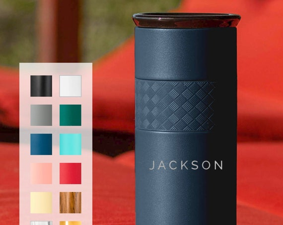 25-Pack of Personalized Insulated Stainless Steel Coffee Tumbler 16oz with CERAMIC Lid - 6hrs hot |18 hrs cold| Best Gift for Coffee Lovers