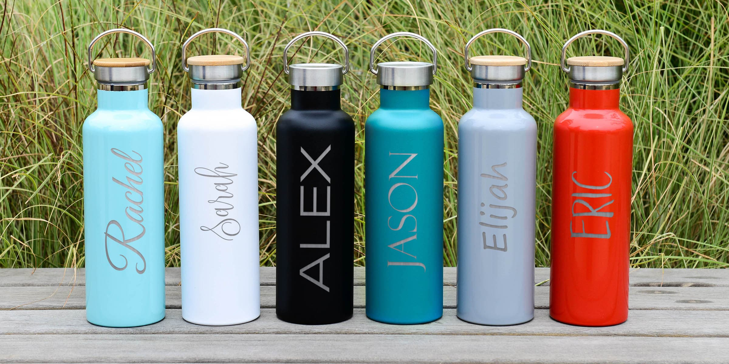 Shop custom water bottles with your logo Personalized water bottles are great for teams trade shows or group events Cheap wholesale prices and Free Shipping!