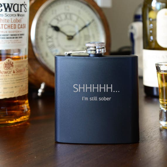 Personalized flask | funny flask | birthday flask | natural wood flask | 21st birthday flask | graduation gift | outdoors gift | #FSK057
