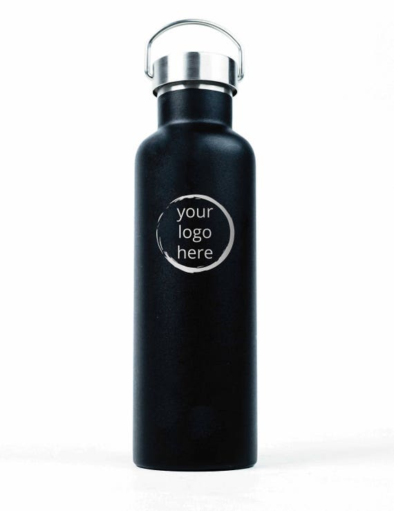 Custom Engraved 25oz Stainless Steel Bottle | Bundle Option | Elemental Insulated Bottles | Team Gifts | Staff Gifts | High End Promo Gifts