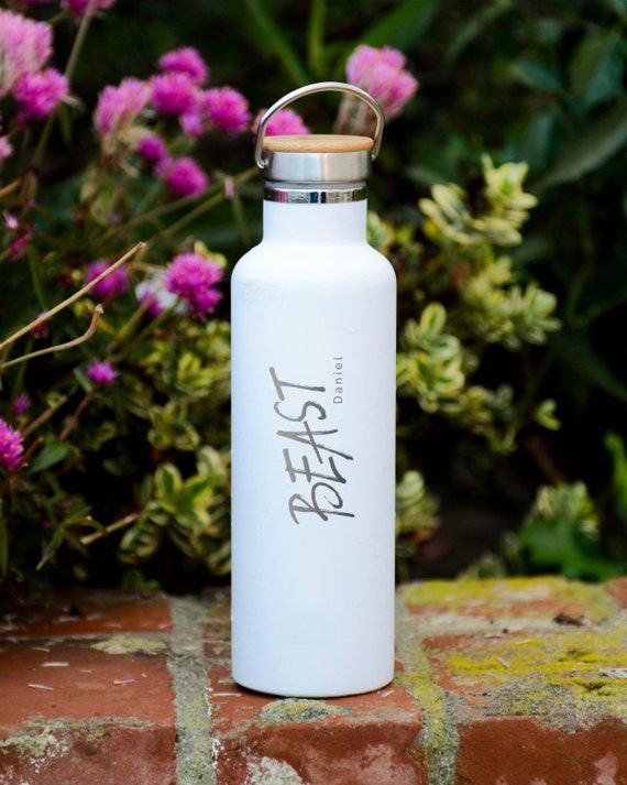 Personalized Insulated Stainless Steel 25oz (750ml)  Water Bottle | Personalized Tumblers with Name | Groomsmen Bottles | Vacuum Flasks