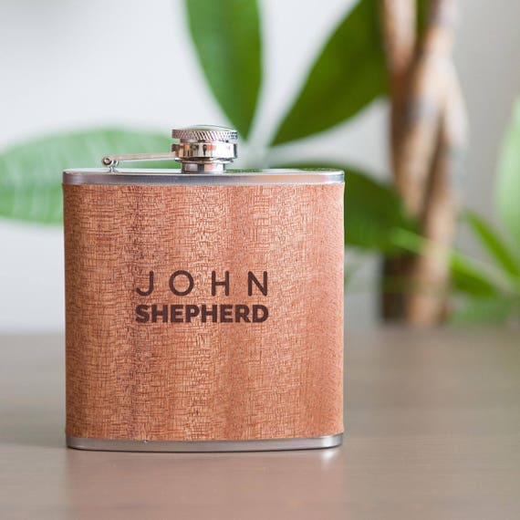 Personalized flask | groomsmen flask | best man flask | maid of honor gift | name on flask | wedding party gift | bridesmaid flask | #FSK029