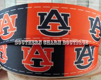 """3 yards 1 1/2"""" Auburn grosgrain ribbon"""