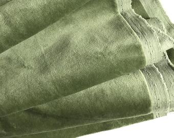 "Light Sage Green /""Antique Velvet/"" Heavy Upholstery Fabric By NEXT"