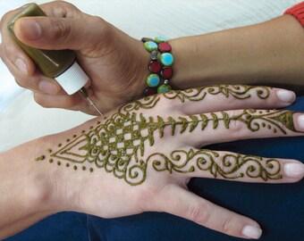 Henna Tattoo Kit Etsy