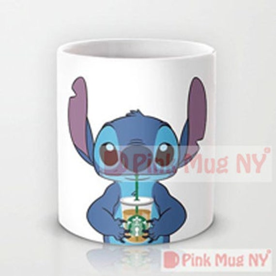 And Stitchlilo Pinkmugny I Personalized Starbucks Mug Love Stitch Designed Cup PukiZTOX