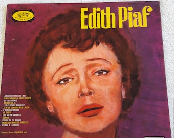 Edith Piaf French Vinyl Record - Collection Princesse - DECCA