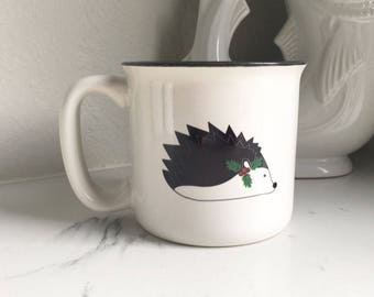 Christmas Hedgehog Campfire Mug